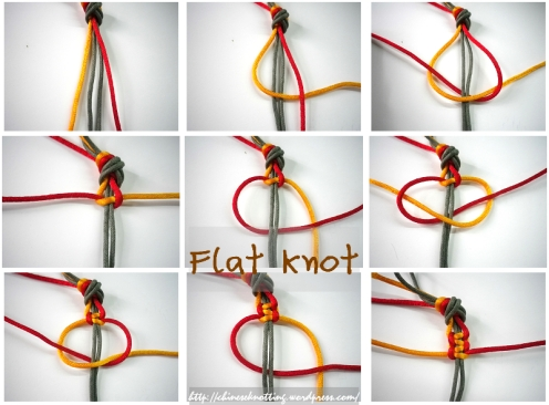 Flat knot tutorial