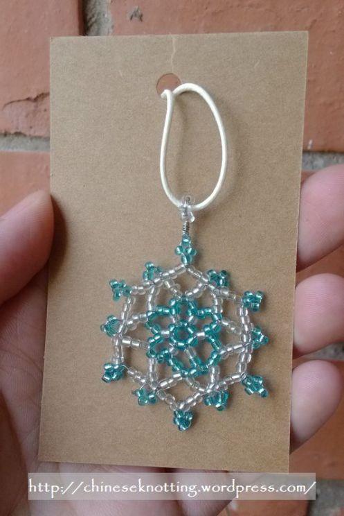 beading pendant pattern