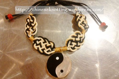 Custom bracelet for a Taichi charm