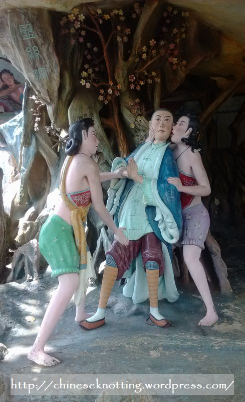 Weird statues illustrating the Journey to the West